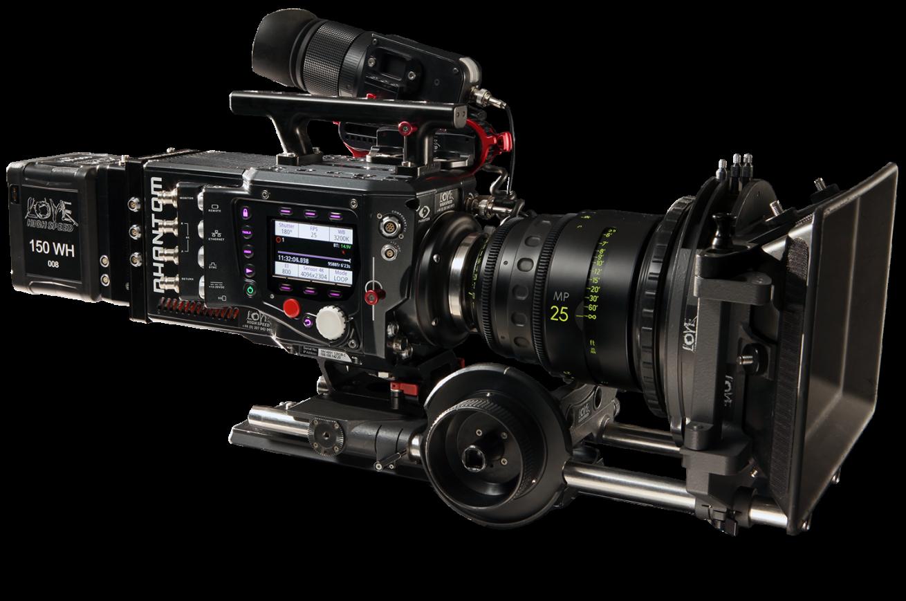 Phantom Flex4k Super Slow Motion Camera Rental London